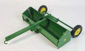 Vintage John Deere K-9 Dirt Pan Scraper By Ertl 1/16 Scale C - Hitch