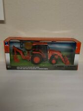 New Ray 1:18 Kubota L6060 with Loader & Backhoe Model With Sounds NEW IN BOX
