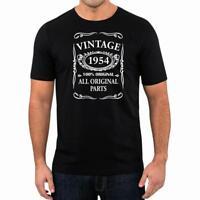65th Birthday Present Gift Year 1954 All Original Parts T-Shirt Unisex Fun Tee