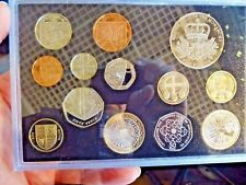 2010 Royal Mint UK Proof Coin Set Boxed COA Includes Belfast & London £1 Coins