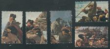 Scott # 1688 ...24 Cents....Washington Crossing Delaware...Set of 5 Stamps