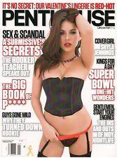 PENTHOUSE MAGAZINE SHYLA JENNINGS FEBRUARY 2013