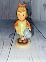 Vintage Hummel Figurine Girl with Nature's Gift 727 1996 Goebel
