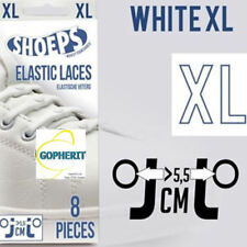 White Shoeps XL Schoenveters 8 stuks