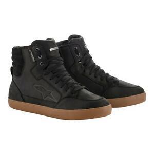 Waterproof Motorcycle Boots > Alpinestars J-6 CE Lightweight Leather - Black Gum