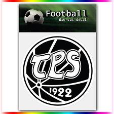 "TPS Turku UEFA Die Cut Vinyl Sticker Car Bumper Window 4""x4"""