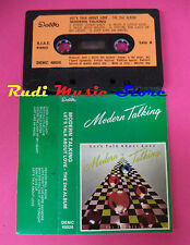 MC MODERN TALKING Let's talk about love 1985 italy DELTA 48026 no cd lp dvd vhs