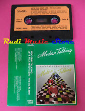 MC MODERN TALKING Let's talk about love 1985 italy DELTA 48026 no cd lp dvd vhs