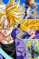 Dragon Ball Super/Z Trunks Super Saiyan 12in x 18in Poster Free Shipping