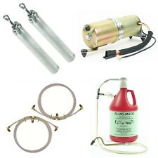 Late 1967 GM MidSize Convertible Top System Kit Cylinders Hoses Motor Fill Tool