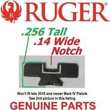 Ruger Rear Sight Blade Wos Mark Mk 1 2 3 I Ii Iii 22/45 Blackhawk Gp100 Redhawk