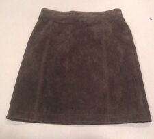 Women's Med Serge Platini Suede Skirt