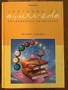 textbook of ayurveda volume 1 vasant lad health book