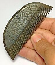 SCARCE-ANCIENT ROMAN MAMMOTH B0NE COMB CIRCA 300-400 AD 115mm