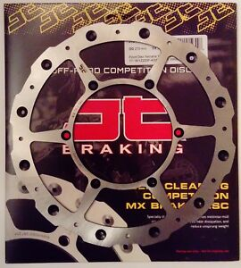 JT Self Cleaning FRONT Wavy Brake Disc Fits YAMAHA YZ250 (2017 to 2018)