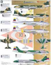 Aztec Decals 1/48 LATIN AMERICAN CANBERRA Bombers Part 2