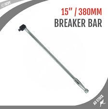"""1/2"""" 380mm 15"""" Breaker Bar Socket Drive Wrench Spanner CRV Steel Chrome Vanadium"""