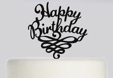 Happy Birthday Acrylic Cake topper .230
