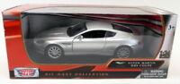 Motormax 1/24 Scale Diecast - 73321 Aston Martin DB9 Coupe Silver