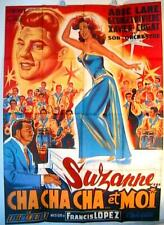 AFFICHE  CINEMA film movie Suzanne Cha Ca Cha  120x160 Lithographie Belinsky