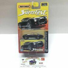 Matchbox Superfast #16 1965 Shelby cobra 427 s/c black limited to 15,000 (T2)