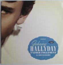 """JOHNNY HALLYDAY - CD SINGLE """"T'AIMER FOLLEMENT"""""""