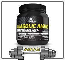 Olimp Anabolic Amino 5500 BCAA Taurine Vit. B6 400 Mega Caps