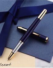 ORIGINAL Stylo avec petite plume Régent bleu nuit laqué et doré