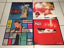 4 LP Colección/pop 80er/Garland Jeffreys, red, Time Bandits, el Harrow/top!