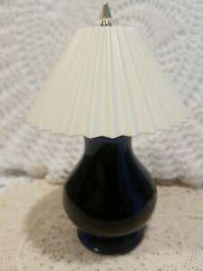 Vintage AVON Charisma Ming Blue Lamp Foaming Bath  Glass Bottle 95+% Full No Box