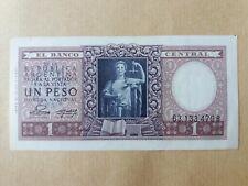 Argentina Banknote 1 Peso 1947 (UNC) : 63133479 B