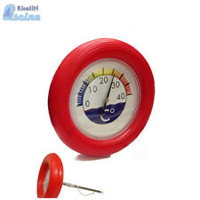 Termometro a ciambella galleggiante Maris Pro temperatura acqua x piscina ROSSO