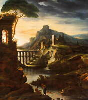 Theodore Gericault Landscape Giclee Art Paper Print Poster Reproduction