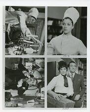 LINDA THORSON PATRICK MACNEE PORTRAIT THE AVENGERS ORIGINAL 1967 ABC TV PHOTO