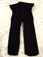 RUBY & BLOOMS Fine Microfiber Black Tights. Worn Once. Sz 4-6 Months. Excel Cond