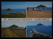 St Michael's Mount Cornwall Postcard (P251)