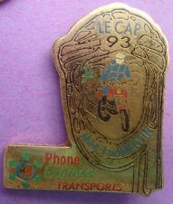 Pin's pin RALLYE MOTO LE CAP 93 JEAN-LUC MARTIN  (ref CL17)