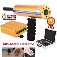 AKS Metal Detector Underground Diamond Gold Silver Long Range Finder Hunter 800M