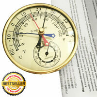 TH9392D Dial Max Min Thermometer Hygrometer Indoor Outdoor Humidity Meter
