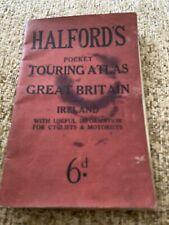 Old Atlas Halfords Touring Atlas