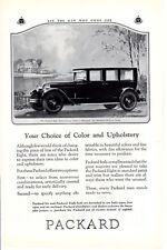 Vintage print auto car ad Packard 7 passenger Sedan Music Master Radio c1928-30