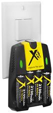 4AA Battery+AC/DC Charger Fujifilm FinePix AX250 AV150
