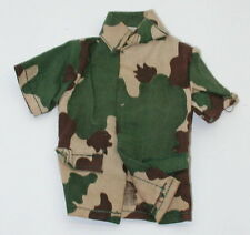 Vintage GI Joe Atomic Man Camo Short Sleeve Shirt  GI1978