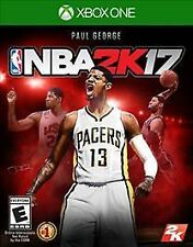 NBA 2K17 for XBOX ONE 2017 Multiplayer Online Video Game - New - Sealed
