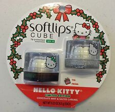 2 Pack Limited Edition Softlips Cube Chocolate Mint & Salted Caramel Lip Care