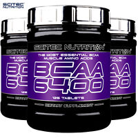 BCAA 6400 AMINO ACIDS SUPPLEMENT - Anabolic & Anti-Catabolic - Build Muscle Mass