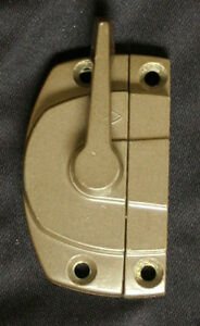 3 avail Restored Vintage Modern Aluminum Window Sash Locks Fastener Keeper Catch