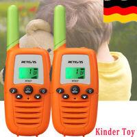 Kinder Funkgerät Retevis RT637 Walkie Talkie PMR 0.5W 16Kanal VOX TOT Spielzeug