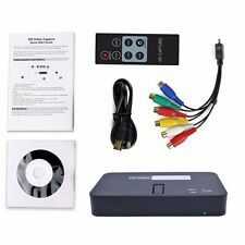1080P HDMI Capture Recorder Game Video PVR To USB SD Card For Xbox Ps3 + Remote