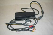 Microsoft Original Xbox 360 HD Component AV 8' Cable & Power Supply DPSN-186CB A